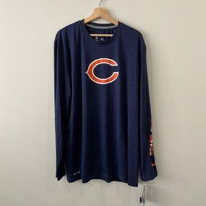 Nike | Dri-Fit Chicago Bears Long Sleeve Shirt